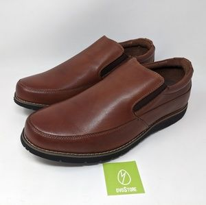 Propet Shoes - Propet Men's Grant Slip-On Loafer brown 9 XX-WIDE